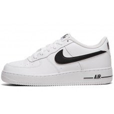 Nike Air Force 1 White/B;ack